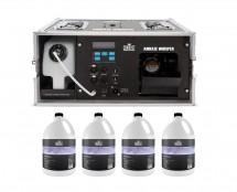 CHAUVET Professional Amhaze Whisper + 4x PHF Haze Fluid