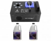 CHAUVET DJ Geyser T6 + 2x Quick-Dissipating Fluid Gallon
