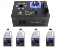 Chauvet Geyser T6 + 4x Quick-Dissipating Fluid Gallon
