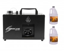 CHAUVET DJ Hurricane Haze 1DX + 2x Haze Fluid Gallon