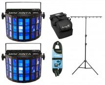 2x CHAUVET DJ Mini Kinta IRC + Stand + Cable + Bag