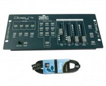 CHAUVET DJ Obey 4 + DMX Cable