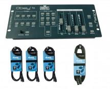 CHAUVET DJ Obey 4 + DMX Cables