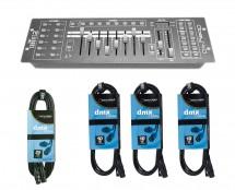 CHAUVET DJ Obey 40 + DMX Cables