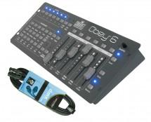 CHAUVET DJ Obey 6 + DMX Cable
