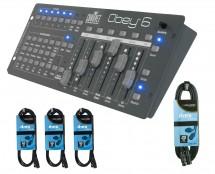 CHAUVET DJ Obey 6 + DMX Cables