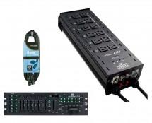 CHAUVET DJ Pro-D6 + DMX Operator 384 + Cable