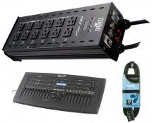 CHAUVET DJ Pro-D6 + DMX Operator Pro + Cable