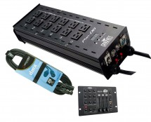CHAUVET DJ Pro-D6 + RGB3C IR + Cable