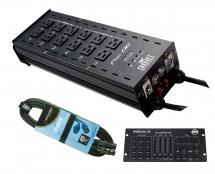 Chauvet Pro-D6 + RGBW4C IR + Cable