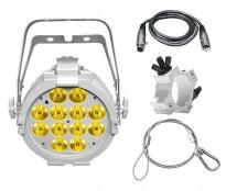CHAUVET DJ SlimPAR Pro W USB White + Clamp + Cable + Safety