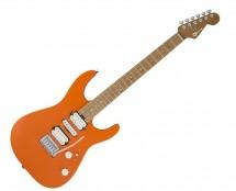 Charvel Pro-Mod DK24 HSH 2PT CM, Caramelized Maple FB, Satin Orange Crush