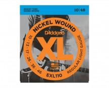 D'Addario EXL110 Nickel Wound Electric Guitar Strings