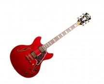 D'Angelico Excel DC w/ Stop-Bar Tailpiece Cherry