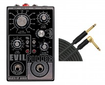 Death By Audio Evil Filter Octave Fuzz + 10' Mogami Cable