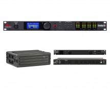 dbx DriveRack PA2 + SKB 1SKB-R3S + Furman PL-8 C