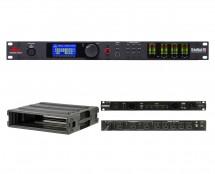dbx DriveRack PA2 + SKB 1SKB-R2U + Furman PL-Pro C