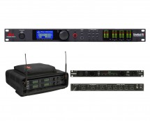 dbx DriveRack PA2 + SKB 1SKB-SC192U + Furman PL-Pro C