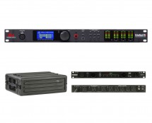 dbx DriveRack PA2 + SKB 1SKB-R3S + Furman PL-Pro C
