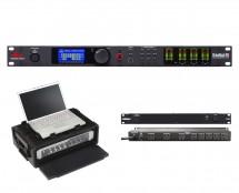dbx DriveRack PA2 + SKB 1SKB19-RSF2U + Furman M-8x2