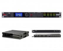 dbx DriveRack PA2 + SKB 1SKB-R2U + Furman M-8x2