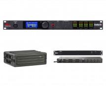 dbx DriveRack PA2 + SKB 1SKB-R3S + Furman M-8x2