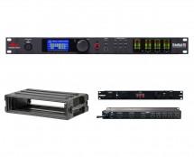 dbx DriveRack PA2 + SKB 1SKB-R2S + Furman M-8Dx