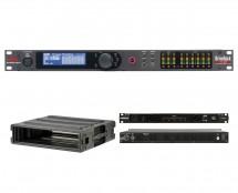 dbx DriveRack VENU360 + SKB 1SKB-R2U + Furman PL-Plus C