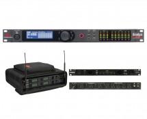 dbx DriveRack VENU360 + SKB 1SKB-SC192U + Furman PL-Pro C