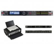 dbx DriveRack VENU360 + SKB 1SKB19-RSF2U + Furman M-8x2