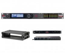 dbx DriveRack VENU360 + SKB 1SKB-R2S + Furman M-8Dx