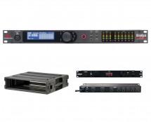 dbx DriveRack VENU360 + SKB 1SKB-R2U + Furman M-8Dx