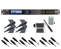 dbx DriveRack VENU360 + RTA-M + 2x Mogami 6' and 6x 20' Cables