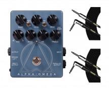 Darkglass Electronics Alpha Omega + Mogami Cables