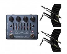 Darkglass Electronics Alpha Omega Ultra + Mogami Cables