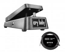 Dunlop GCB95 Original Crybaby Wah + 10' Instrument Cable
