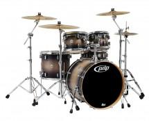 PDP Concept Maple LTD 5-Piece Drum Set - Satin Charcoal Burst