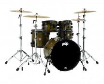 PDP Concept Maple LTD 5-Piece Drum Set - Olive Stain Lacquer