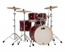 PDP Spectrum Series 5-Piece Drum Set - Cherry Satin