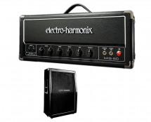 Electro-Harmonix MIG-50 Head + Electro-Harmonix 2x12 Cabinet