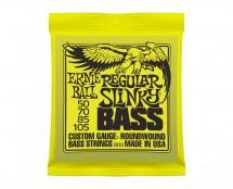 Ernie Ball 2832 Regular Slinky Round Wound Electric Bass Guitar Strings