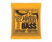 Ernie Ball 2833 Hybrid Slinky Roundwound Electric Bass Guitar Strings