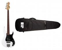 ESP LTD AP-204 - Snow White + ESP Premium Gig Bag