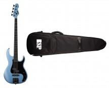 ESP LTD AP-4 - Pelham Blue + ESP Premium Gig Bag