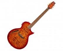ESP LTD Thinline 6-String Quilted Maple in Tiger Eye Burst