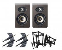2x Focal Shape 40 + IsoAcoustics + Mogami Cables