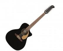 Fender Villager 12-String - Black w/ Walnut Fingerboard