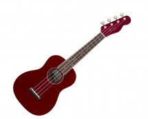 Fender Zuma Classic Concert Ukulele - Candy Apple Red w/ Walnut Fingerboard