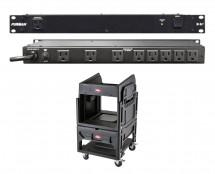Furman M-8x2 + SKB 1SKB19-R1208