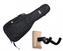 Gator GB-4G-ACOUSTIC Acoustic Guitar Gig Bag + Frameworks Wall Hanger (Maple)